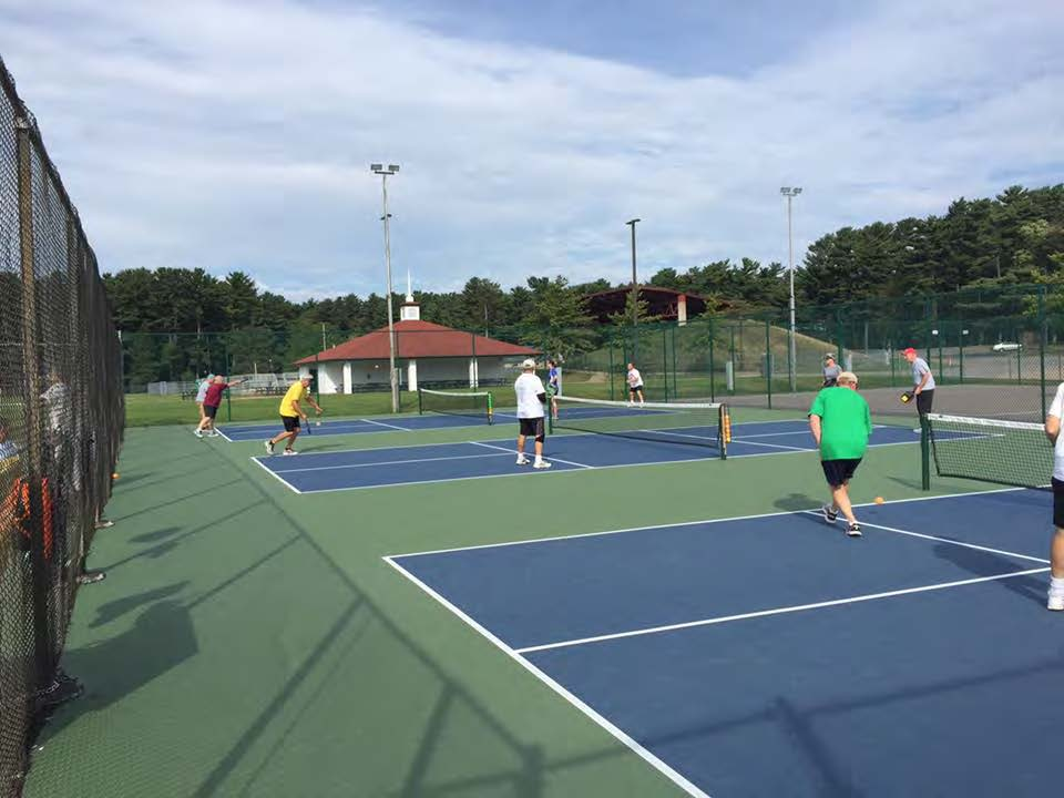 Pickleball Court at Marathon Park